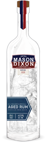 C.S. Reaser's Special craft-distillery-aged rum from Mason Dixon Distillery